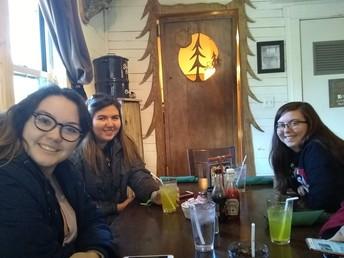 Lunch in Slipper Rock, PA