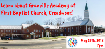 Getting to Know Granville Academy: FBC Creedmoor