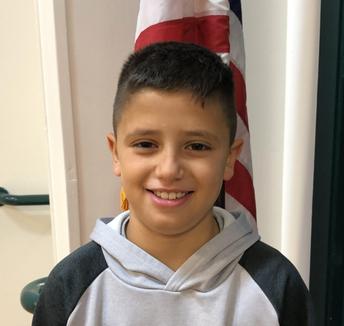 Rigo Farfan  4th Grade