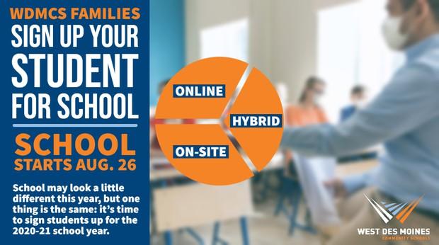 2020-21 Enrollment Promo Graphic