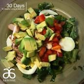 Kale Salad by Sydney Fazio