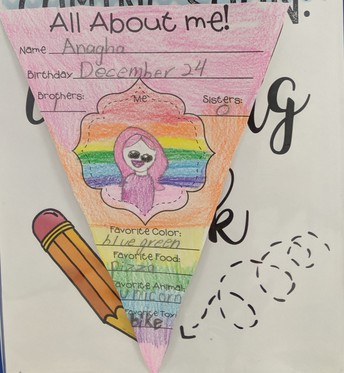 2nd Grade Author of the Month
