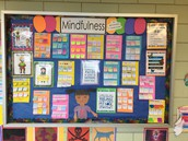 Our Mindfulness Bullentin Board in Room 337
