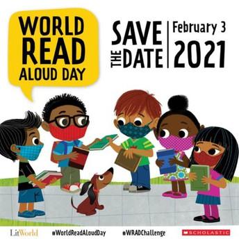 Read Aloud Day - Wednesday, February 3