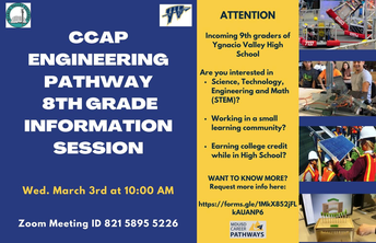 YVHS visit flyer- March 3rd