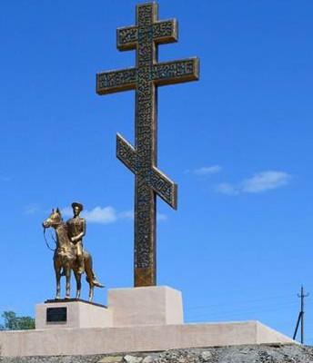 Памятник основателю города А.Л.Сулину