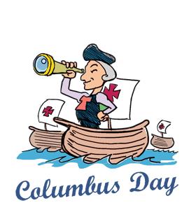 Columbus Day Holiday