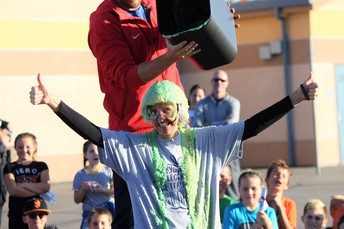 A little SLIME never hurt a PRINCIPAL!