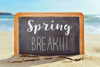 April 5-16: Spring Break