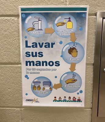 Lavar sus manos