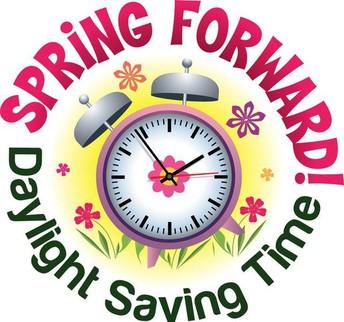 Time Change - Spring Forward!