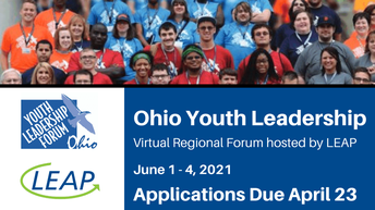 Opportunities for Ohioans with Disabilities' Ohio Youth Leadership Forum (YLF)