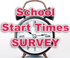 Our school start times survey ends this Friday at noon