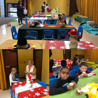Alabama's Birthday Party - Thanks PTO & PE