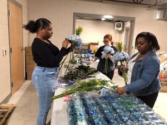 Northeast High School Agriculture Students Design Arrangements For Local Community Partner