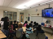 Gators of the Week: Chinese Language Students Skype with Chinese Students
