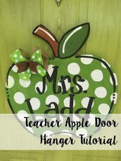 We're having a Staff-Only Door Hanger Painting Party on October 19th