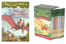 Magic Tree House Series by Mary Pope Osborne
