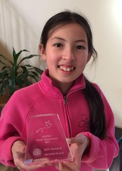 Lucia places 2nd in Go Tournament