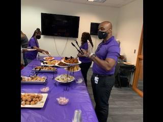 Dr. Haggins Friday Staff Appreciation
