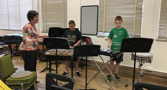 Summer Band Lessons with Mrs. Phelan
