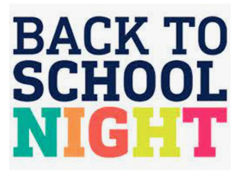 Asynchronous Back to School Night - September 24th