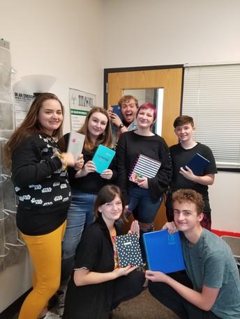 Meet The 2018-2019 Yearbook Staff