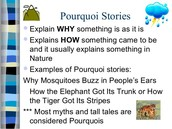 What is a Pourquoi Tale?