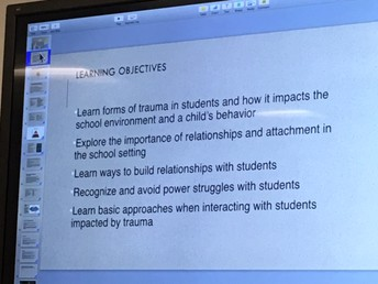 Staff Meeting Focuses On Building Student Relationships