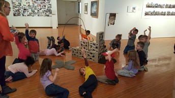 1st Grade Field Trip to Prichard Art Gallery