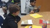 Students use new LLI kits!