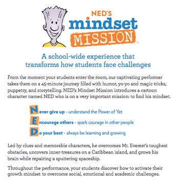 Ned's Mindset Mission Assembly -- September 12