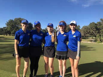 girls golf caps off a great season at the dominion in san antonio