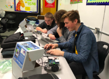 Students can individualize their bots