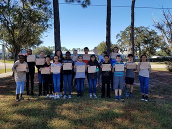 Year 1 Risk-taker Students of the Month