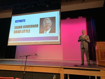 Engaging with Idaho Governor Brad Little