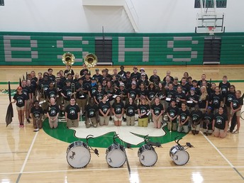 2018 Shamrock Marching Band
