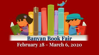 Spring Book Fair in the Library Fri 2/28 - Fri 3/6