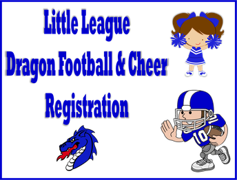 Little League Football and Cheer Registration
