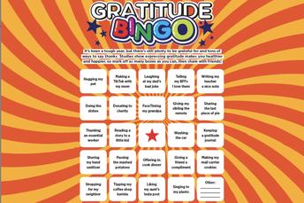Gratitude BINGO