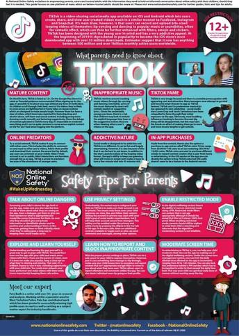 Mobile Phone Use by Pupils - TIK TOK WARNING