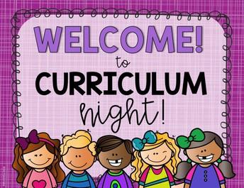 Virtual Curriculum Night