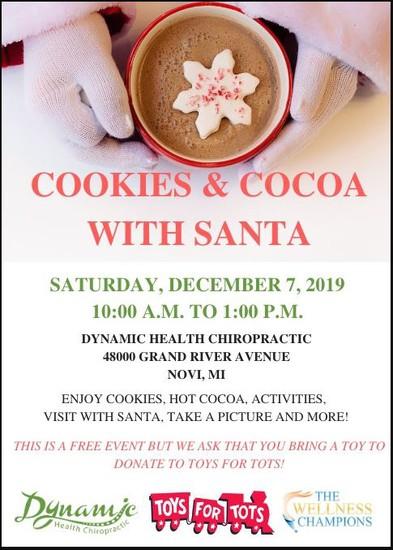 Cookies W/ Santa Flyer