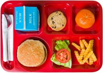 October 2019 School Lunch Menu