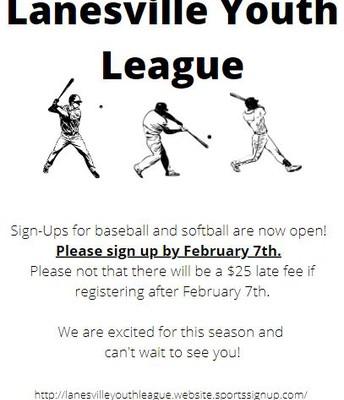 Lanesville Youth League