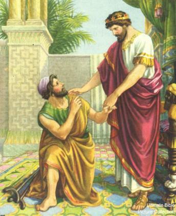 King David Shows Kindness