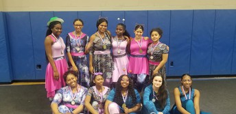 Indoor Color Guard Wins Regional Competition