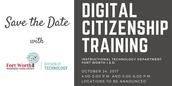 Digital Citizenship Training