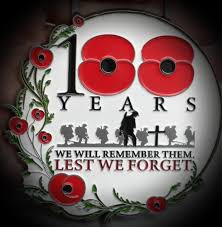 100 years since the Armistice was signed ending WWI.  Please take time to remember!