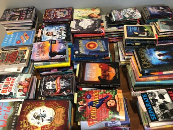 FREE NOVELS FOR YOUR CLASSROOM LIBRARY-PICK UP AT SOUTHLAND CENTER